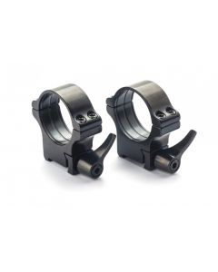 Rusan Steel Roll-off Quick-Release rings - CZ 550 & BRNO Centrefire - 1 Inch