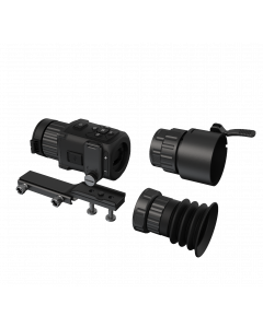 HIK Micro Ultimate Thunder 2.1x 35mm 35mK 384x288 17um Smart Thermal Weapon Scope with 50A Scope Clamp
