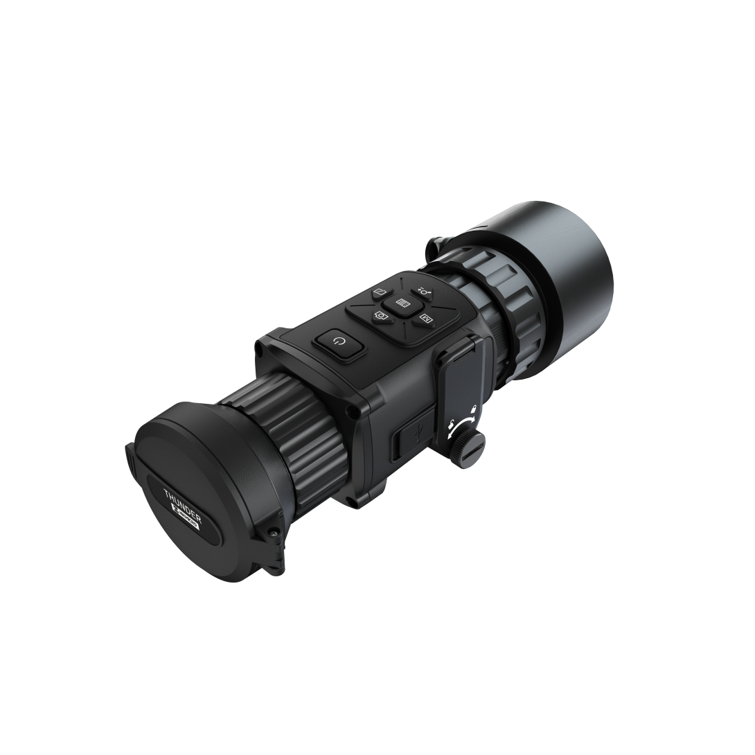 HIK Micro Thunder Pro 50mm 35mK 640x512px 12µm Smart Thermal Front Attachment Clip-On (w/40A, 50A or 60A Scope Clamp)