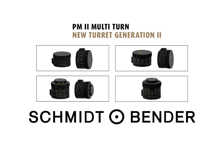 Schmidt & Bender: New Turret Gen II Defined